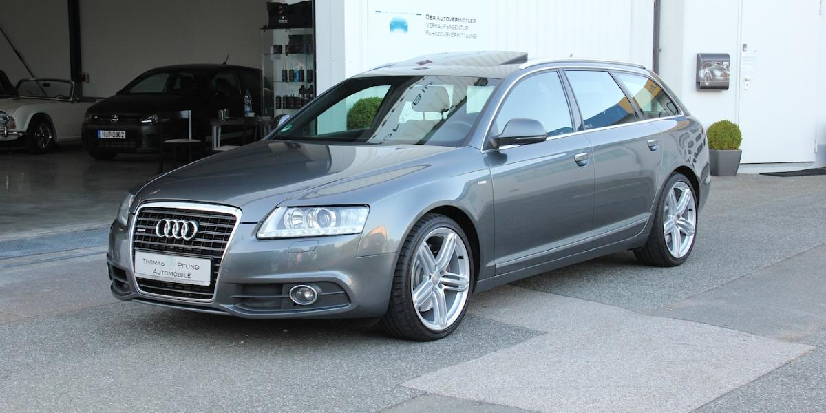 audi a6 3 0 tdi quattro avant s line thomas pfund automobile. Black Bedroom Furniture Sets. Home Design Ideas