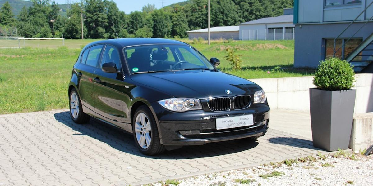 bmw 1er 116d limousine saphirschwarz thomas pfund. Black Bedroom Furniture Sets. Home Design Ideas