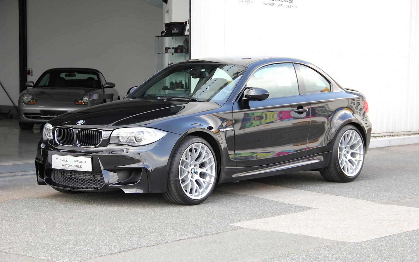 bmw 1er m schwarz orig 10 tkm navi thomas pfund. Black Bedroom Furniture Sets. Home Design Ideas