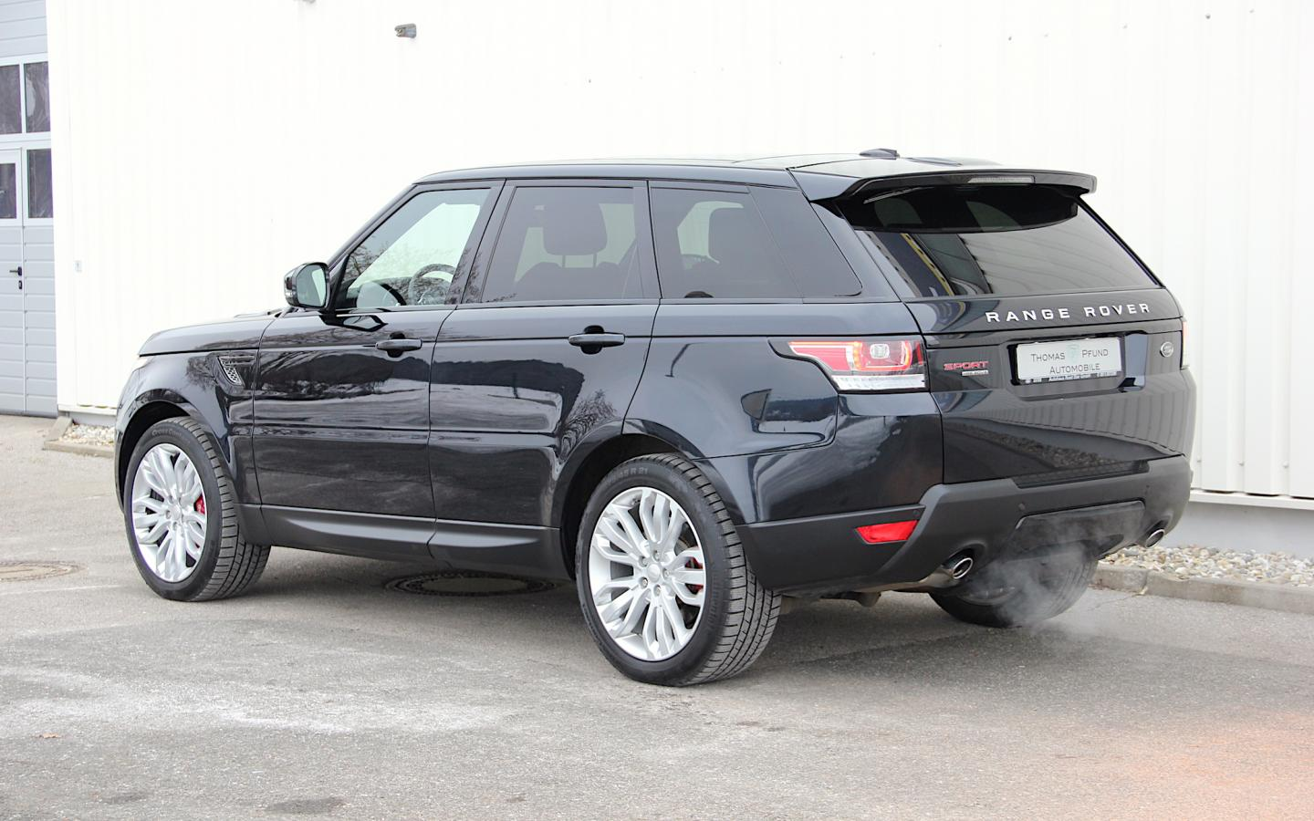 land rover range rover sport hse dynamic thomas pfund automobile. Black Bedroom Furniture Sets. Home Design Ideas