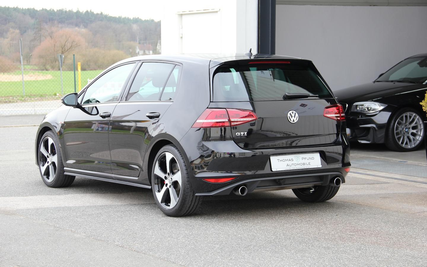vw golf vii gti navi thomas pfund automobile. Black Bedroom Furniture Sets. Home Design Ideas